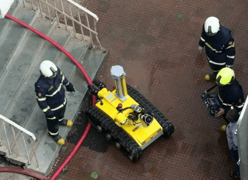 Fire fighting Robot India