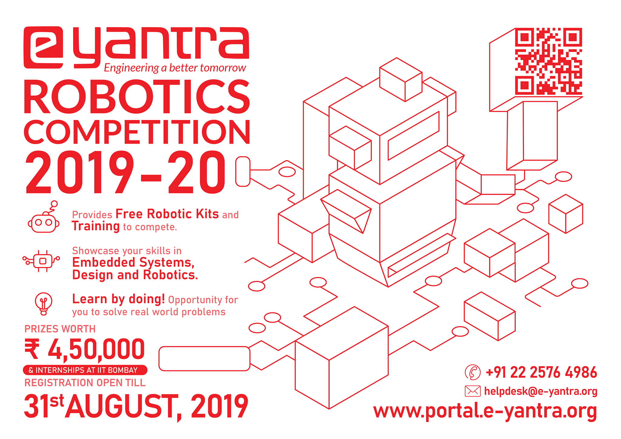 Eyantra-2019 IIT BOMBAY Robotics Competition Launched