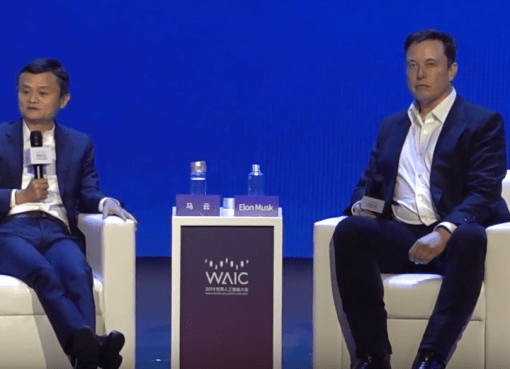 Elon and Jack ma talking about the future of AI, jobs, education and human civilizatioon.