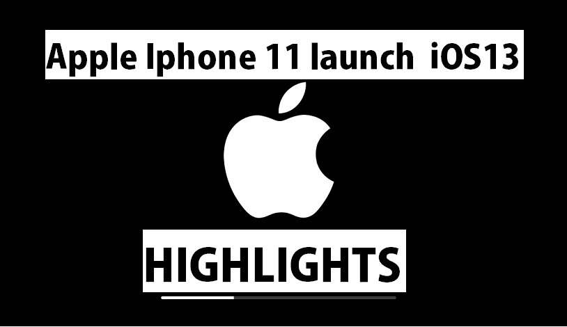 iphone 11 lauch event