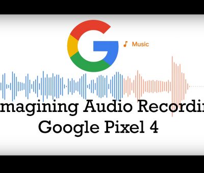 google pixel 4 audio recording