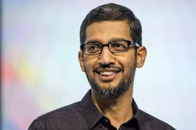 Image result for sundar pichai ceo google""