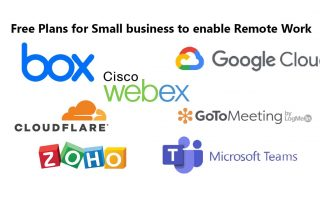 free plan for small business remote work corona virus