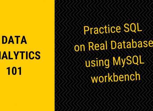 Practice sql query on real database
