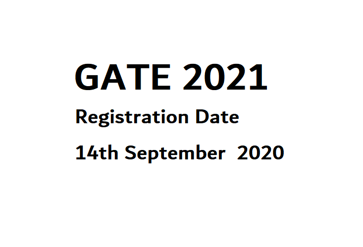 GATE 2021 notification