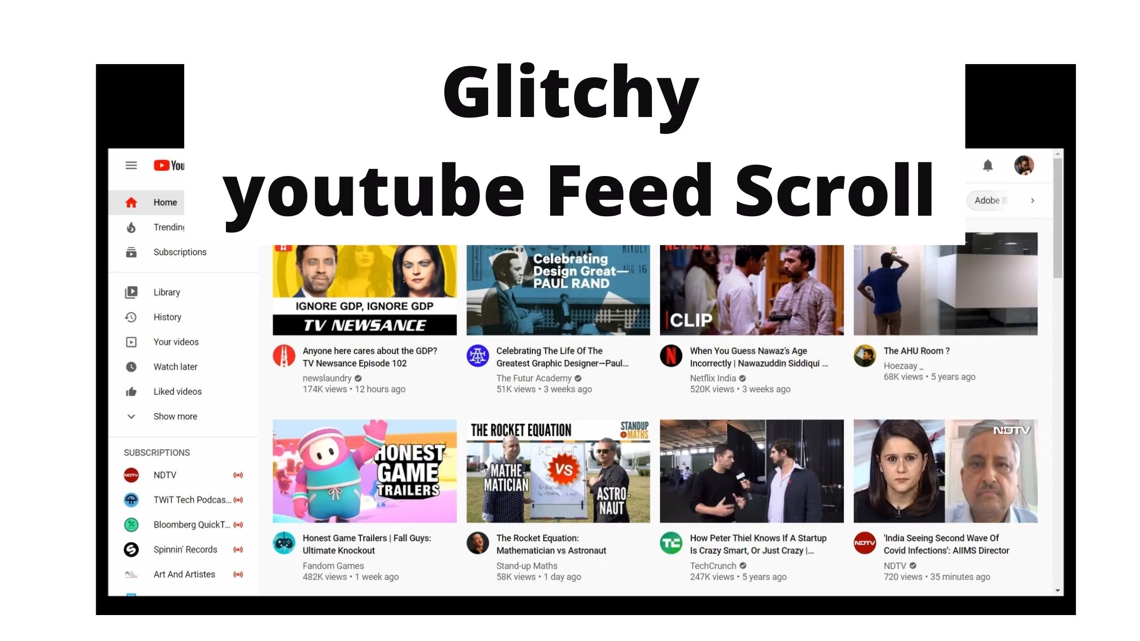 Glitchy-Youtube-Feed-Scroll